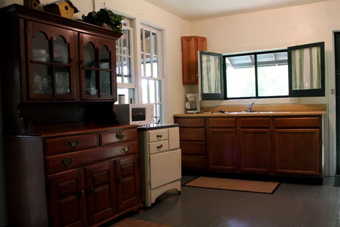 Overlook Cottage Kitchen
